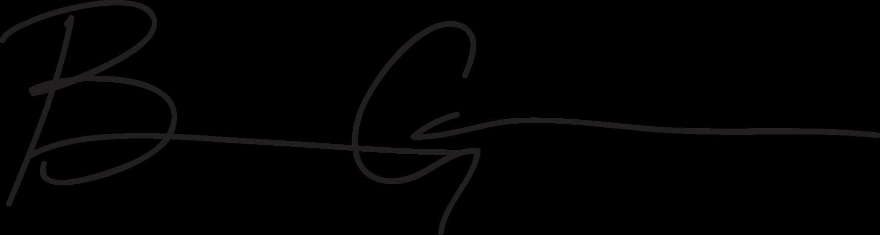 Benson's Signature